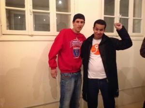 مع الرابير المغربي معاذ الحاقد المعتقل الاَن